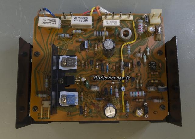 Sansui AU-517 : circuit driver à revoir.