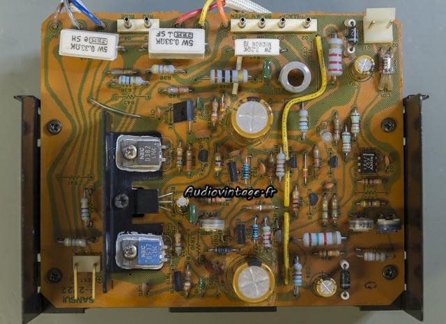 Sansui AU-517 : circuit driver revu.
