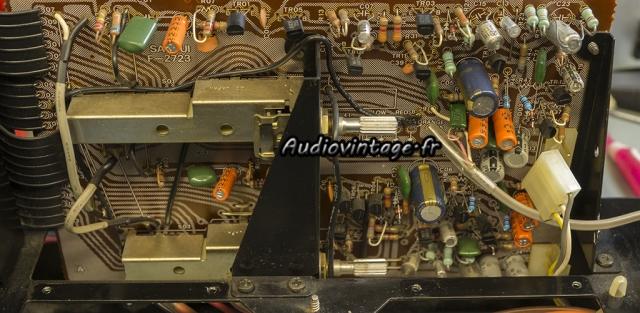 Sansui AU-517 : circuit phono à terminer.