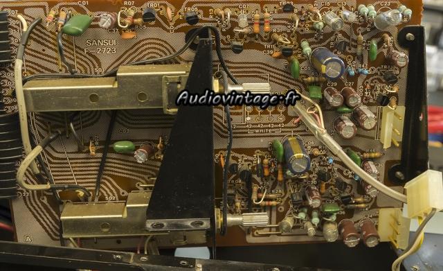 Sansui AU-517 : circuit phono revu.