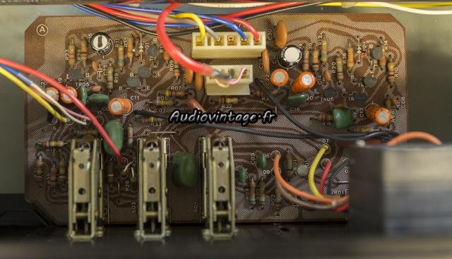 Sansui AU-517 : circuit tonalité/filtres à réviser.