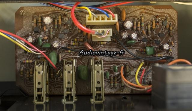 Sansui AU-517 : circuit tonalité/filtres révisé.