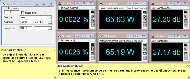 Sansui AU-517 : distorsion-a-2x65w-sous-8-ohms-entree-aux-tone-defeat