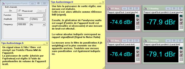Sansui AU-517 : rapport-signal-bruit-a-2x1w-sous-8-ohms-entree-phono-tone-defeat