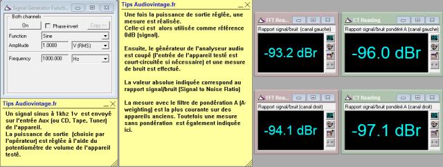 Sansui AU-517 : rapport-signal-bruit-a-2x65w-sous-8-ohms-entree-aux-tone-defeat