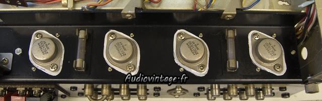 Sansui AU-555A : graisse thermique neuve.