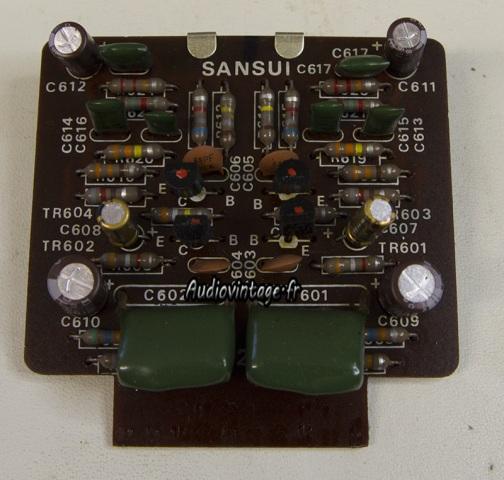 Sansui AU-555A : phono révisé.