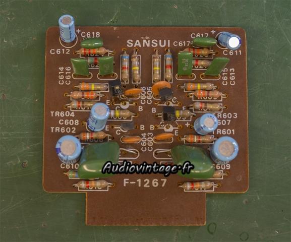 Sansui AU-555A