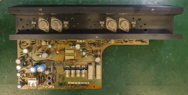 Sansui AU-5900 : circuit principal à réviser.