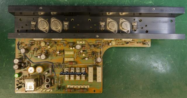 Sansui AU-5900 : circuit principal révisé.