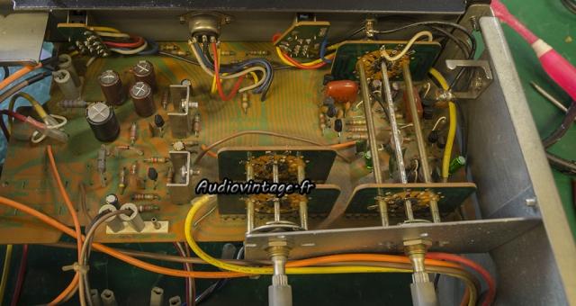Sansui AU-5900 : alimentation et phono révisés.