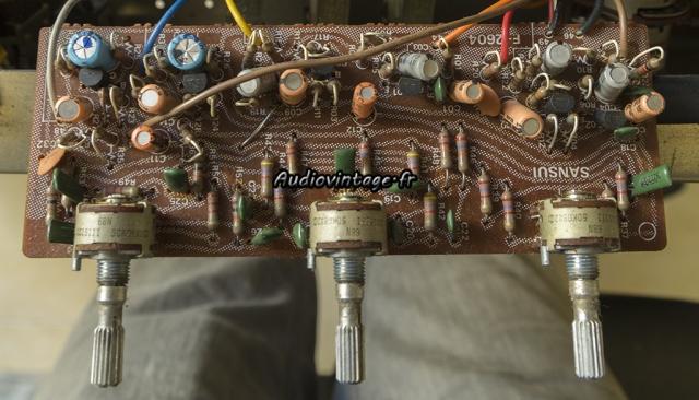 Sansui AU-5900 : circuit de tonalité à réviser.