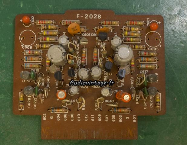 Sansui AU-7500 : étage phono à revoir.