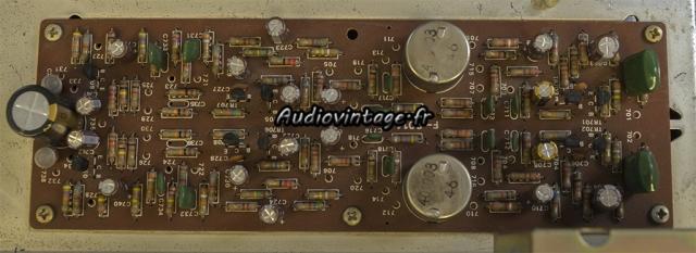 Sansui AU-7500 : circuit tonalité/filtres revu.