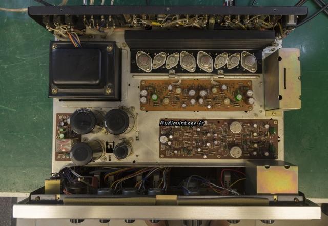 Sansui AU-7500 : terminé.