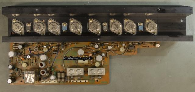 Sansui AU-7700 : démontage du circuit principal.