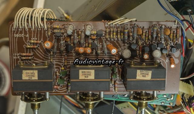 Sansui AU-7700 : circuit tonalité à revoir.