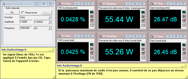 Sansui AU-7700 : distorsion-a-2x55w-sous-8-ohms-entree-aux-tone-defeat