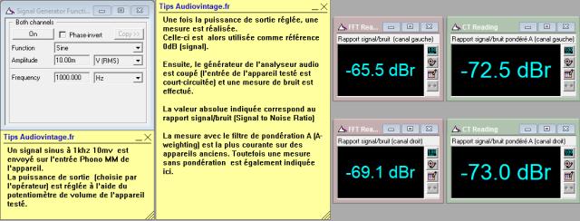 Sansui AU-7700 : rapport-signal-bruit-a-2x1w-sous-8-ohms-entree-phono-tone-defeat