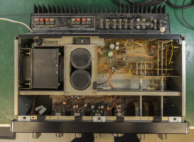 Sansui AU-7900 : à son arrivée.