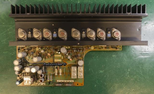 Sansui AU-7900 : circuit principal à revoir.