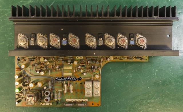 Sansui AU-7900 : circuit principal révisé.