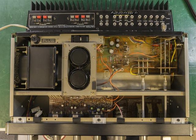 Sansui AU-7900 : terminé.