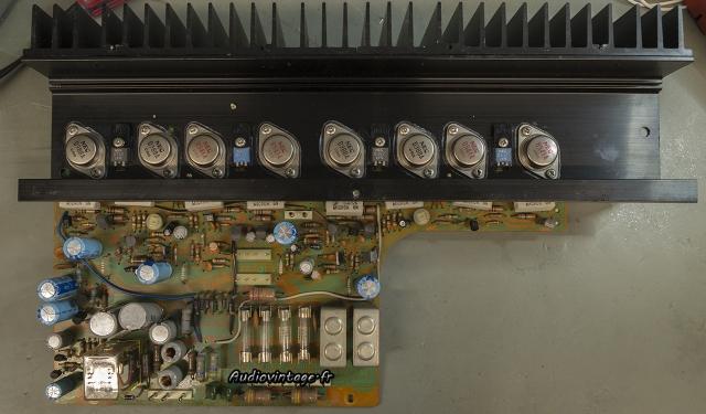 Sansui AU-7900 : circuit principal à réviser.
