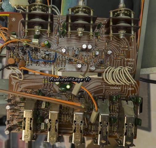 Sansui AU-7900 : tonalité et filtres révisés.