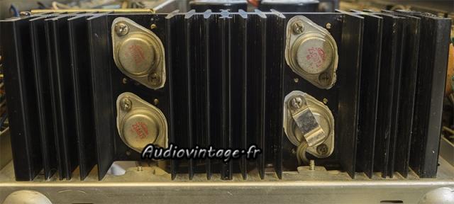 Sansui AU-9500 : micas neufs et graisse fraîche.