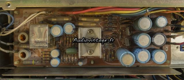Sansui AU-9500 : alimentation à revoir.