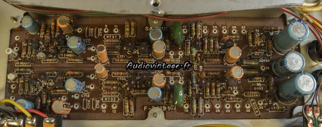 Sansui AU-9500 : circuit tonalité à revoir.