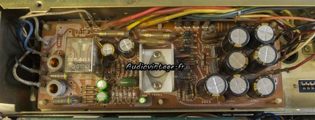 Sansui AU-9500 : circuit alimentation revu.