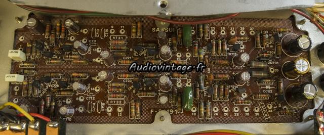 Sansui AU-9500 : circuit tonalité révisé.