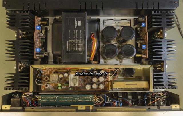 Sansui AU-9500 : terminé.
