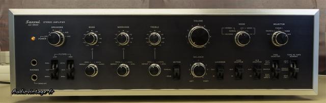 Sansui AU-9500 : un beau morceau !