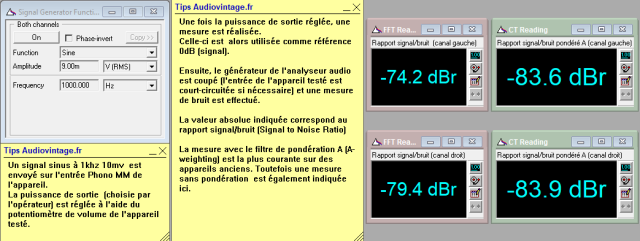 Sansui AU-9500 : rapport-signal-bruit-a-2x80w-sous-8-ohms-entree-phono-tone-defeat