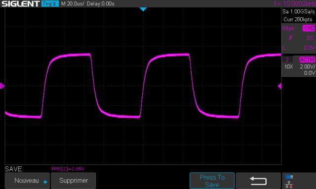 Sansui AU-9500 : signal-carre-a-10khz