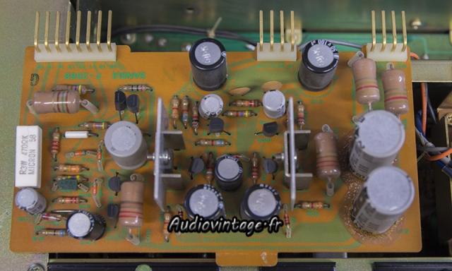 Sansui AU-9900-alim regulee-a reviser-audiovintage