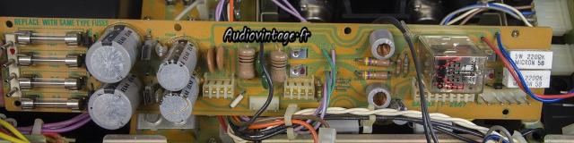 Sansui AU-9900-alimentation driver-a reviser-audiovintage