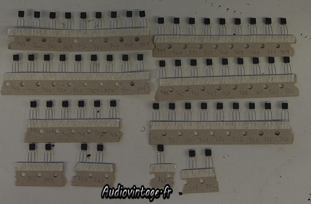 Sansui AU-9900-appairage transistors-audiovintage
