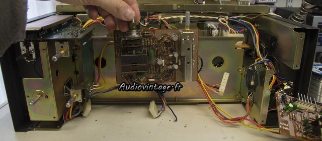 Sansui AU-9900-buffer amp-a reviser-audiovintage