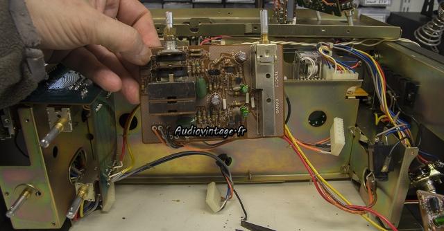 Sansui AU-9900-buffer amp-revise-audiovintage