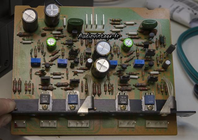 Sansui AU-9900-driver revise-audiovintage