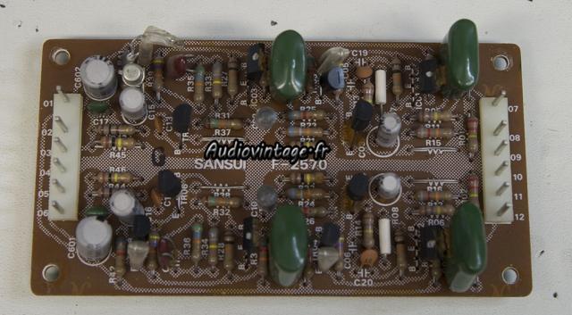 Sansui AU-9900-etage phono-a reviser-audiovintage