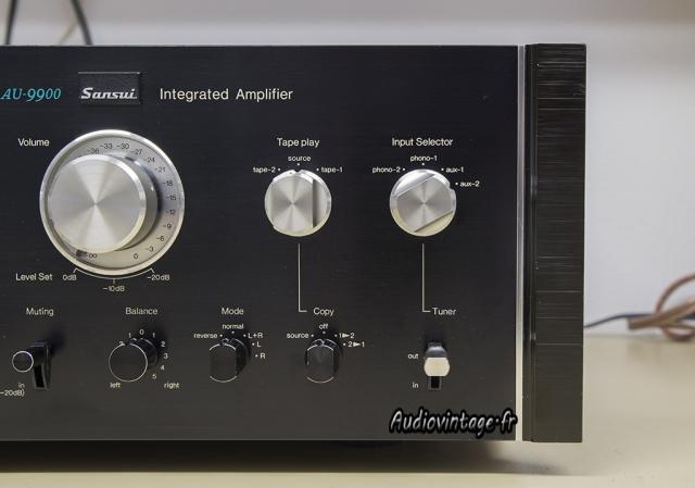Sansui AU-9900-gros plan-droite-audiovintage