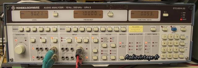 Sansui AU-9900-mesure-rohde&schwarz-audiovintage
