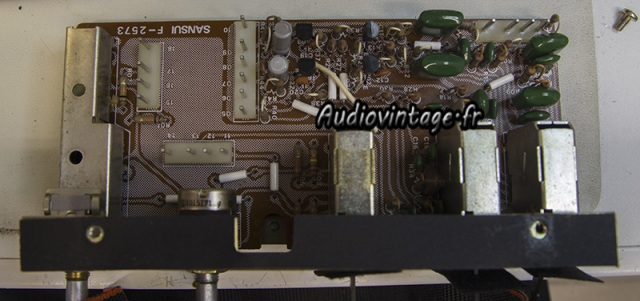 Sansui AU-9900-section filtre-a reviser-audiovintage