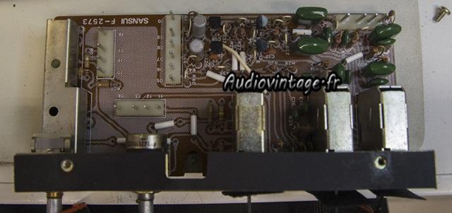Sansui AU-9900-section filtre-a reviser-audiovintage