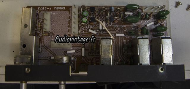 Sansui AU-9900-section filtre-revisee-audiovitage